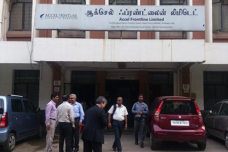 インドAccel Frontline社